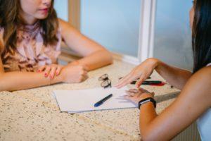 job interview, ace the interview, business women